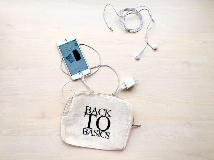 Phone & Eco-bag.