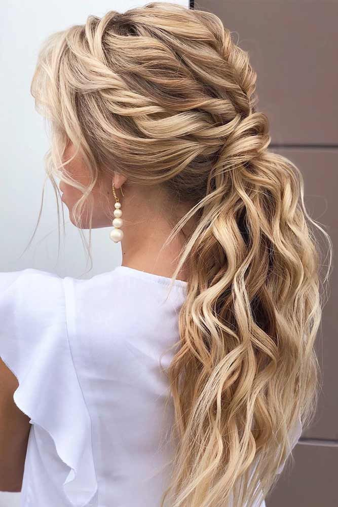 100 Different Ponytail Hairstyles To Fit All Moods And Occasions Curls For Long Hair Party Hairstyles For Long Hair Long Hair Styles