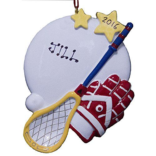 Rudolph and Me Personalized Lacrosse Playing Christmas ...