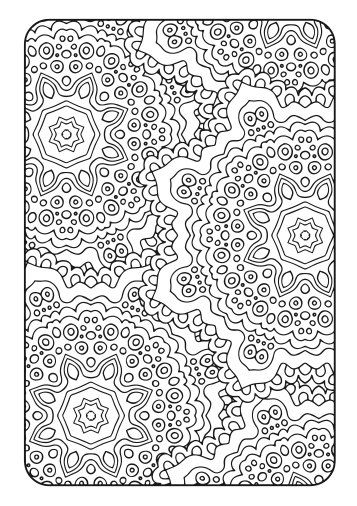 Adult Coloring Book Art Therapy Volume 2 by AdvanceMultimedia                                                                                                                                                      Más