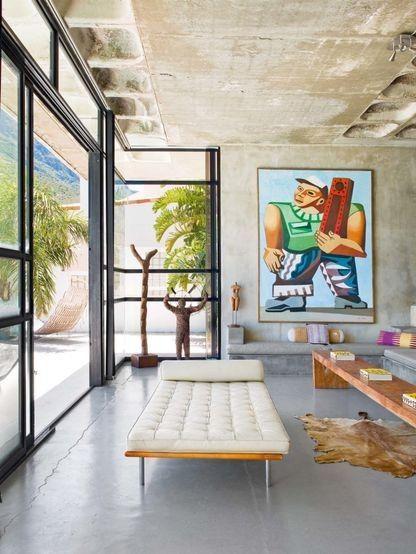 House Tour A French Photographer Interior Design OnlineInterior