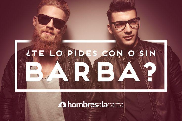 ¿Lo prefieres con barba o sin? #bearded #beards #men #hotdudes
