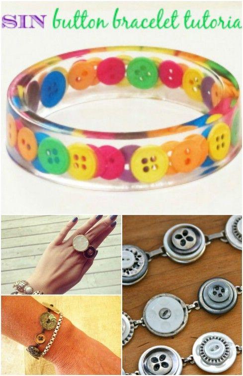 DIY κατασκευές με κουμπιά, κουμπιά, διακόσμηση με κουμπιά