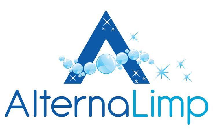 Logotipo para nuestro cliente AlternaLimp