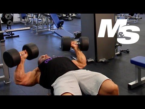 Muscle & Strength: Jay Cutler's Training Tips: Maximum Contraction Dumbbell Bench Press
