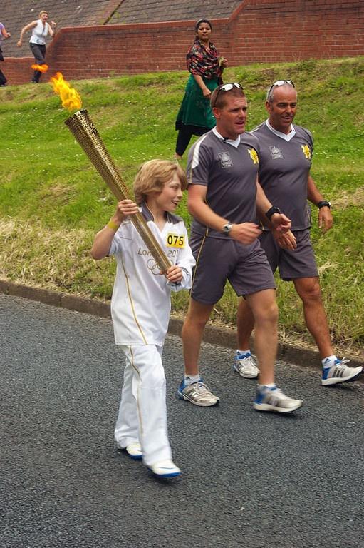 @Avramskii: Olympic torch in Scunthorpe