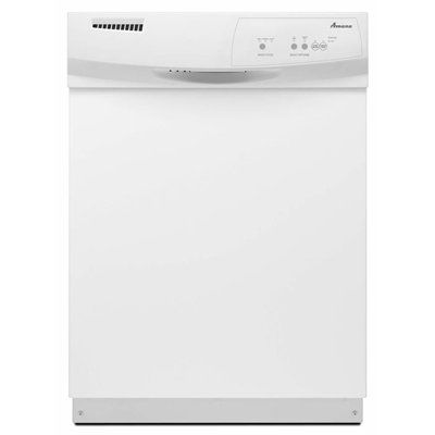 Amana ADB1100AWW 24-in 63-Decibel Built-In Dishwasher with Hard Food Disposer (White) ENERGY STAR