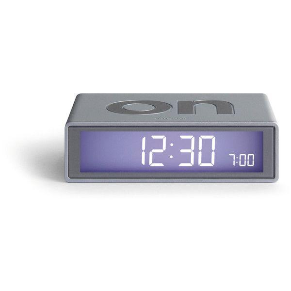 DesignWright Flip LCD Alarm Clock ($32) ❤ liked on Polyvore featuring home, home decor, clocks, filler, digital clock, lcd screen, digital clock alarm, digital alarm clock and gun clock