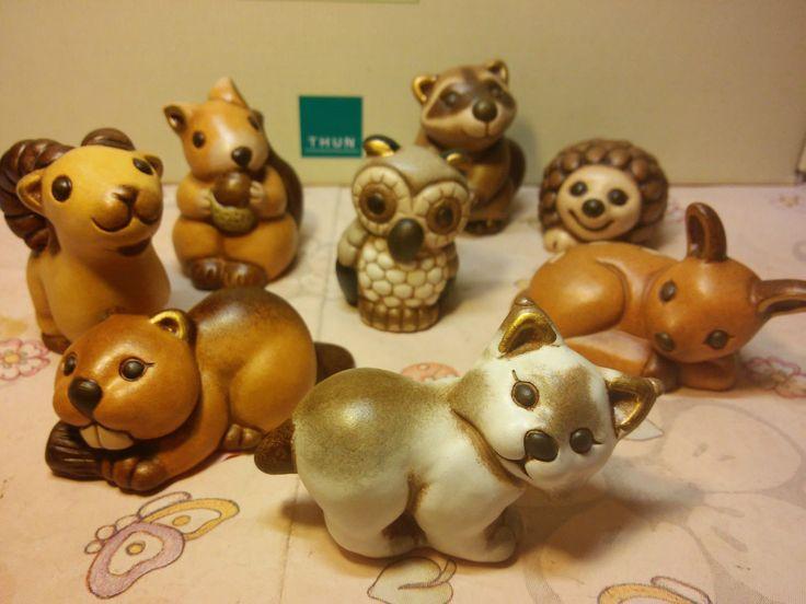 Thun Lince Bodo L'acuto Animali del bosco | eBay