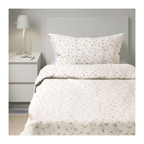 LJUSÖGA Duvet cover and pillowcase(s) - Twin - IKEA