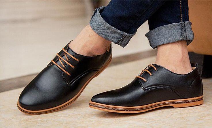 Groot-formaat-mannen-oxford-schoenen-mannen-formele-kleding-schoenen-flats-leeglopers-mocassins-mannen-zwarte-schoenen-sapatos.jpg (745×450)
