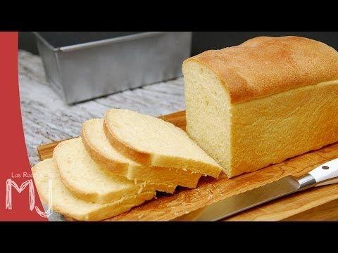 Pan de molde casero con masa madre - YouTube