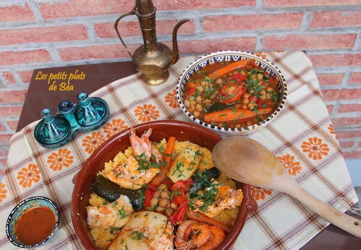 Couscous de poisson à la  semoule de maïs - Maroc (1) Fès