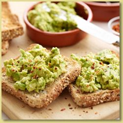 Spiced Avocado Toast; Spiced avocado toast for breakfast, or why not for a snack?