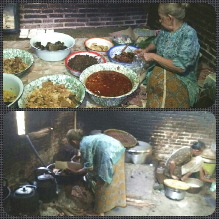 Mangot lele,yogyakarta(spicy smoked catfish) 86yrs old cook keep the old tradition way of cooking
