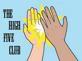High Five Club | clubbed thumb