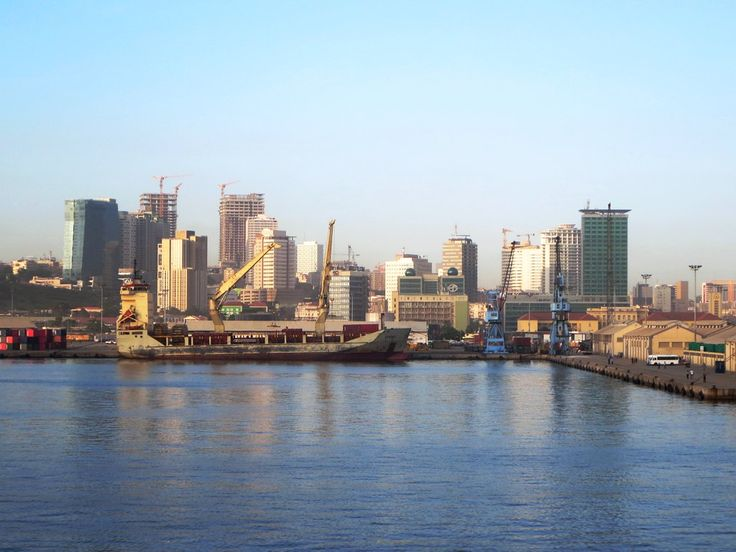 The Porto de Luanda is Angola's largest, serving a growing city of over five million.