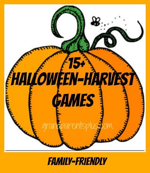 Halloween Harvest Games  Family friendly fun!