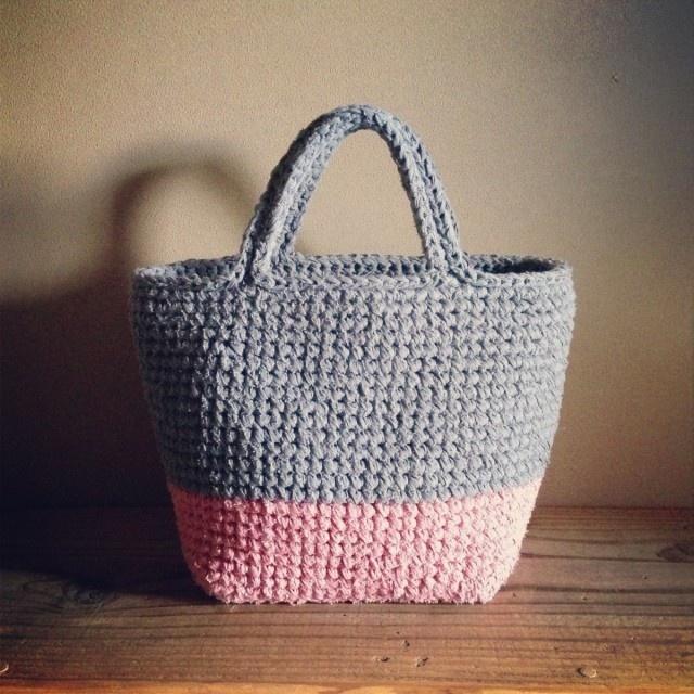 Crochet bag, just an idea, no lino