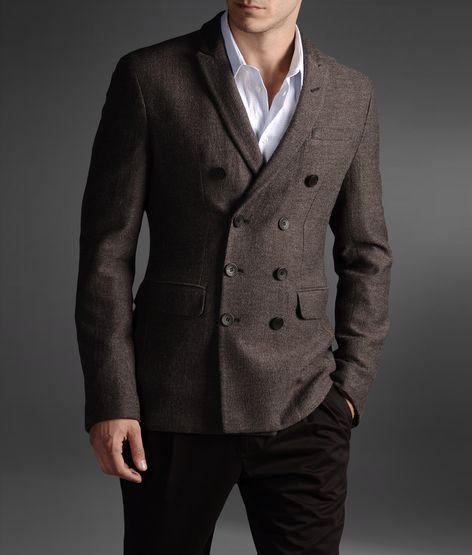 emporio armani official online store men double breasted jacket men 39 s style pinterest. Black Bedroom Furniture Sets. Home Design Ideas