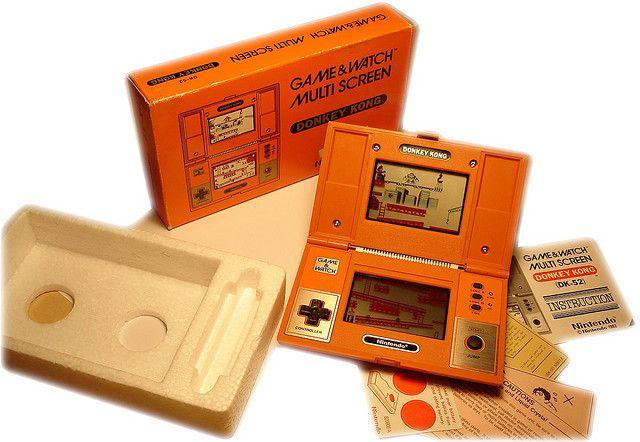 Nintendo, Game & Watch, Donkey Kong