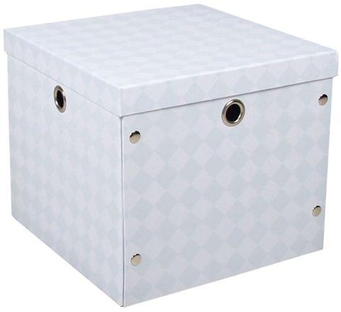 Alice & Fox Förvaringsbox Papp Blå