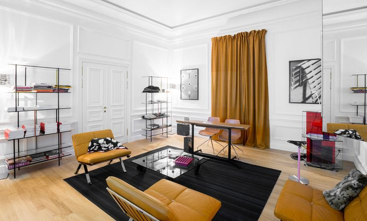 Office for Living by Jean Nouvel at 2013 Salone  #ArchiJuice #OfficeDesign