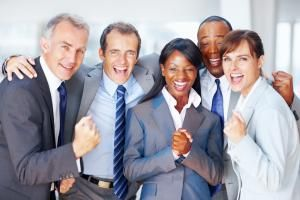 Successful business team includes the HR Director - Stígur Karlsso/E+/Getty Images