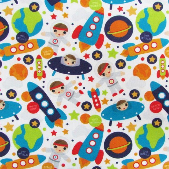Especial Boys Astronautas (50 cm x 1,50 m)