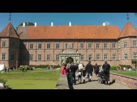 medieval days at Voergaard Castle in North Jutland, Denmark 2012 part one