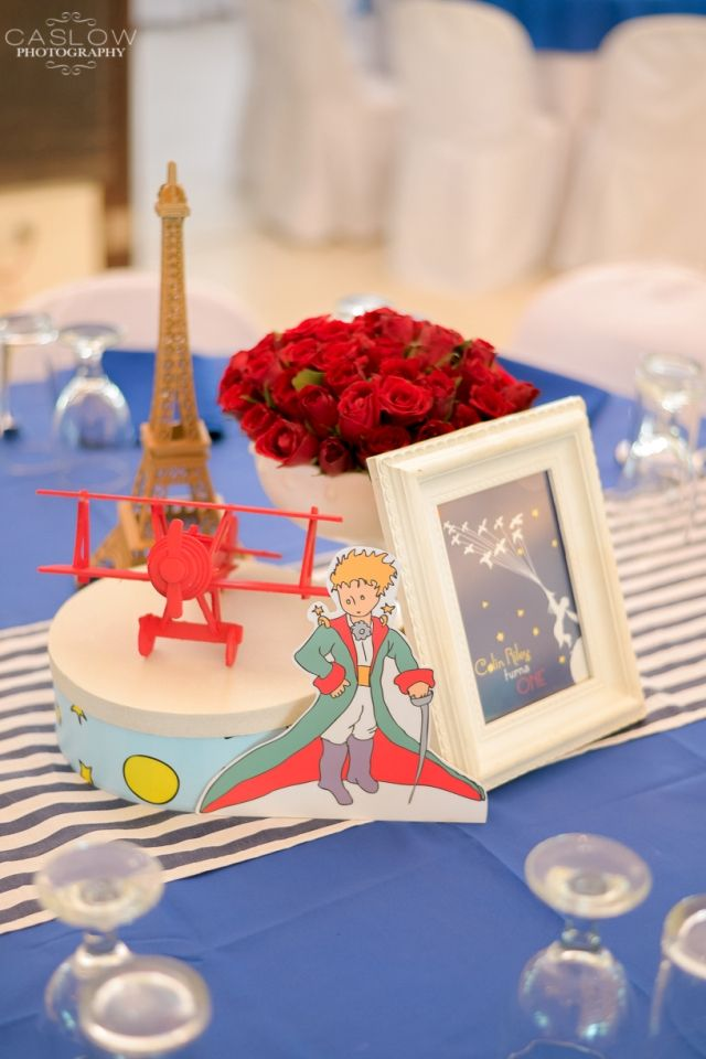 Colin's The Little Prince Themed Party – Table Centerpiece