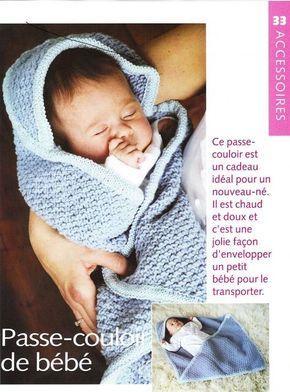 Voici un adorable passe-couloir pour bébé fais aux aiguilles, que ce soit pour vous ou pour offrir pas besoin d'être experte en couture. De la laine et des aiguilles, ajouter un peu de patience et vous obtenez un superbe passe-couloir pour vous ou pour...