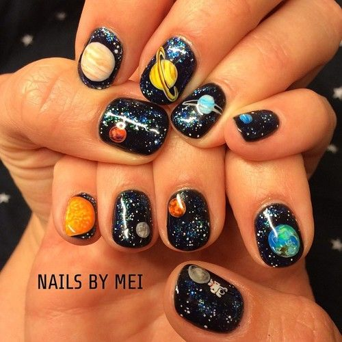 wow this puts space nails on a whole 'nother level