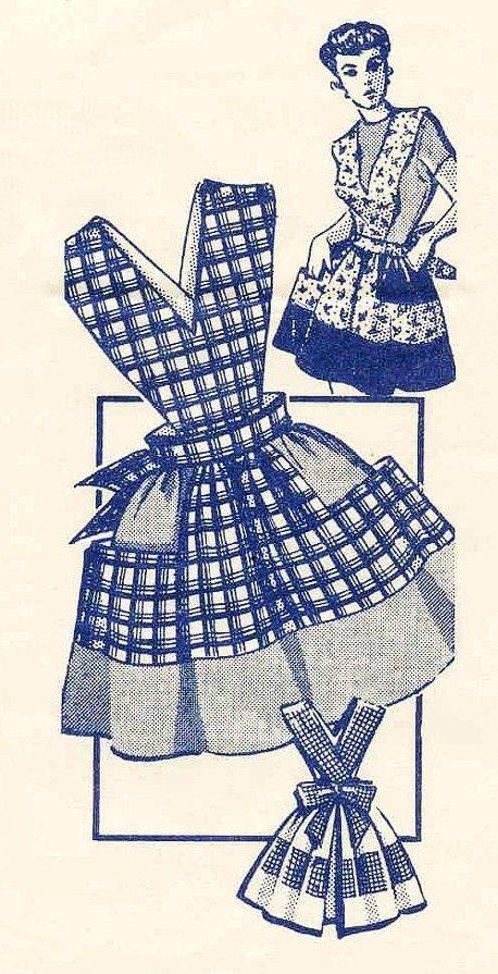 vintage aprons