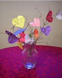 Grow some extra love in your home this February with the Smitten Snowflake Hearts Tree. Children will love making this stylish Valentine's Day craft.