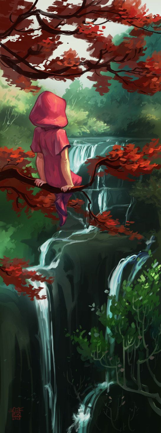 Red-leaves by ~DawnElaineDarkwood on deviantART