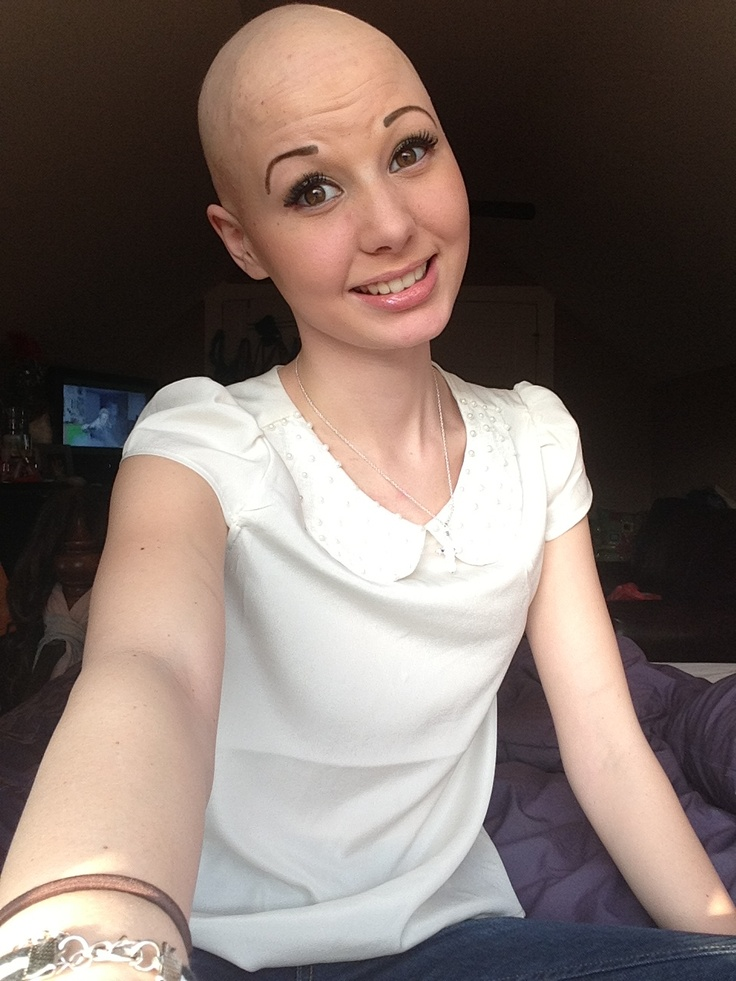 Girls completely shaved