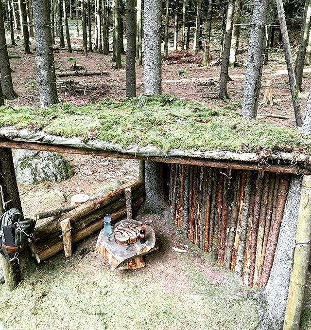 Camouflaging Bug Out Shelter : Images about bug out survival shelters on pinterest