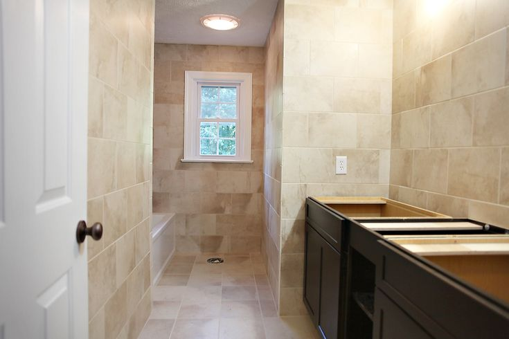 Tile The Whole Bathroom Bathrooms Pinterest Home To Work And The O 39 Jays