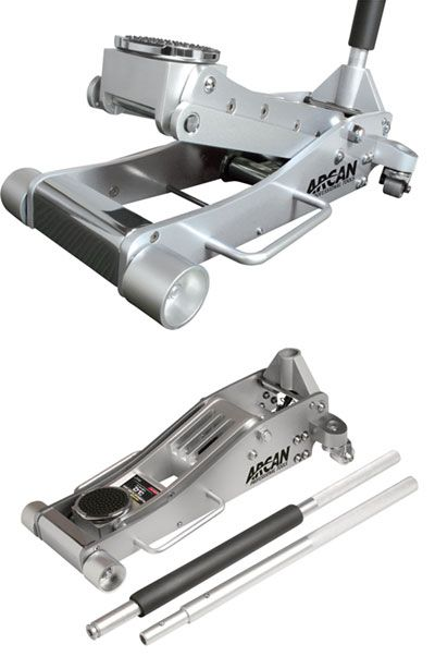 Arcan 3 Ton Aluminum Quick Rise Low Profile Service Floor