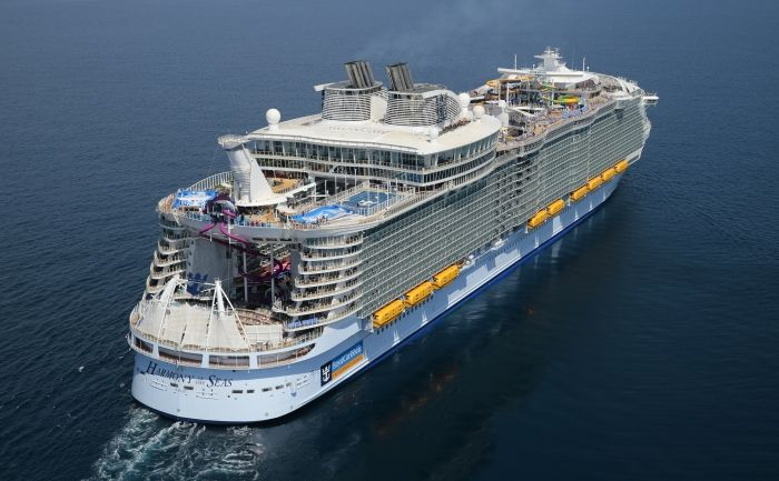 Aerial photo from Royal Caribbean press center page https://www.royalcaribbeanpresscenter.com/