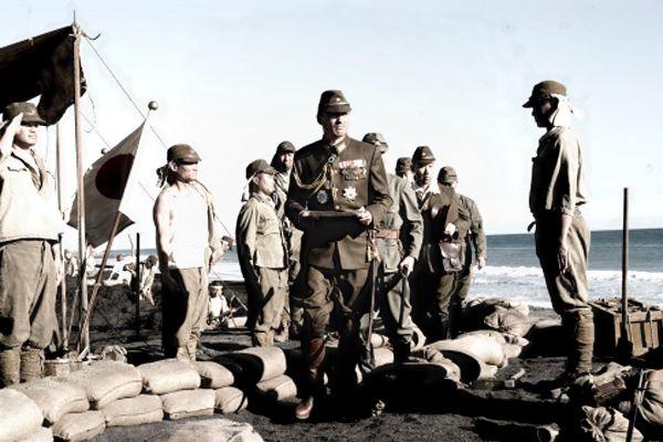 Japanese oficer in Tarawa island