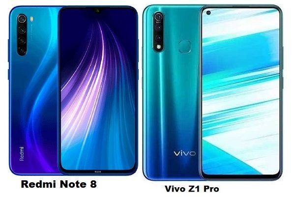 Xiaomi Redmi Note 8 Vs Vivo Z1 Pro Specs Comparison Xiaomi Vivo Digital Zoom