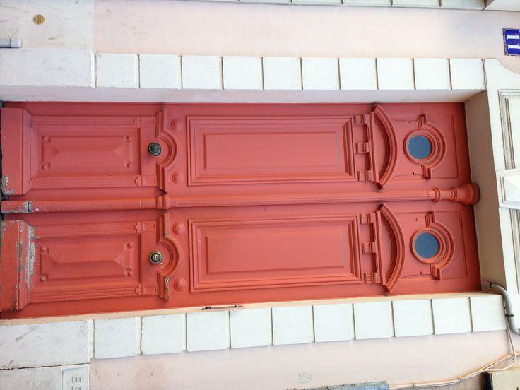 door in Paris photo cred: me