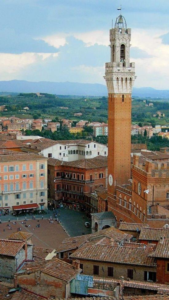 Siena, Tuscany, Italy -The Palio