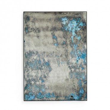 Echo Ocean Distressed Mirror #exclusive #fairandsquare #handmade