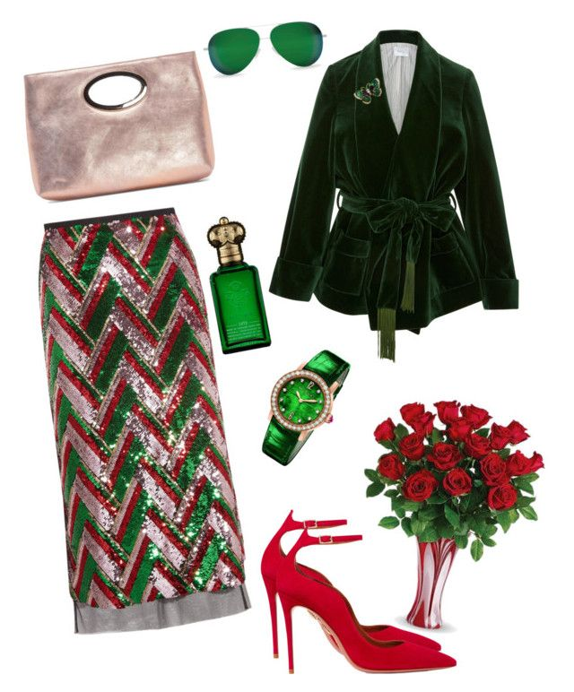 """""""Day18#"""" by natalia-andre-morin ❤ liked on Polyvore featuring Gucci, Racil, Bulgari, Clive Christian, Donald J Pliner, Aquazzura and Victoria Beckham"""