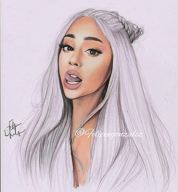 Ariana Grande Christmas Wallpaper: Die Besten 25+ Mädchen Zeichnen Ideen Auf Pinterest