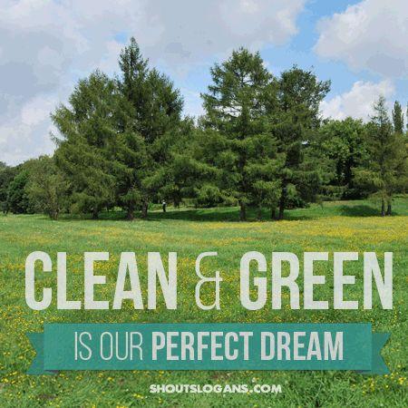 explore green slogans