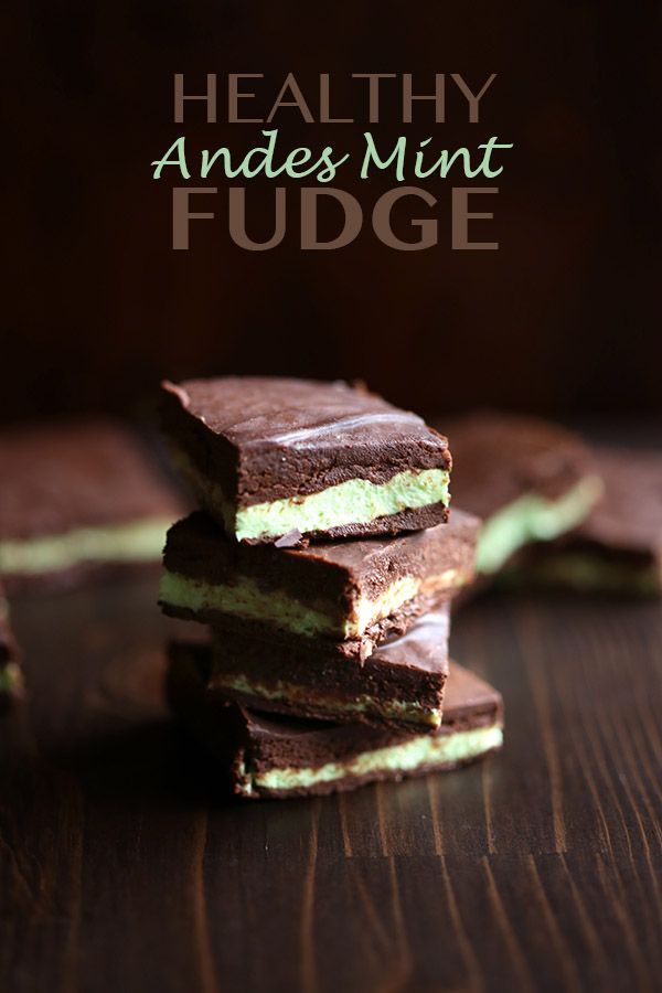 Healthy Low Carb Andes Mint Fudge - the best low carb chocolate mint fudge!